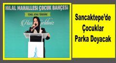 Sancaktepe'de Çocuklar Parka Doyacak
