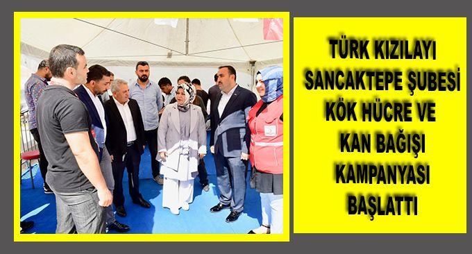 Türk Kızılayı Sancaktepe'de kök hücre ve kan bağışı kampanyası başlatıldı.