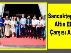 Sancaktepe'de  Altın Eller Çarşısı Açıldı