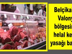 Belçika'nın Valonya bölgesinde helal kesim yasağı başladı