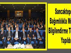 Sancaktepe'de Bağımlılıkla Mücadele Bilgilendirme Toplantısı Yapıldı