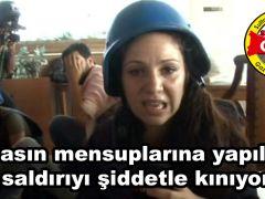 SUSAGAD'DAN BASIN MENSUPLARINA KARŞI YAPILAN HAİN SALDIRIYA KINAMA !