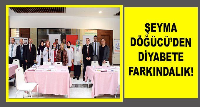 ŞEYMA DÖĞÜCÜ'DEN DİYABETE FARKINDALIK!