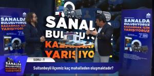 YARIŞMA SANAL HEDİYELER GERÇEK 7 soru 7 cevap ve her soruda 7 hediye Sultanbeyli Belediyesi, korona virüs (Covid-19) salgınına karşı evde geçirilen vakitlerin daha verimli değerlendirilmesi maksadıyla vatandaşlarında katılacağı eğlenceli bir yarışma düzenledi. Düzenlenen yarışmada sosyal medya üzerinden sorular sorup doğru cevap verenlere onlarca hediye verildi.