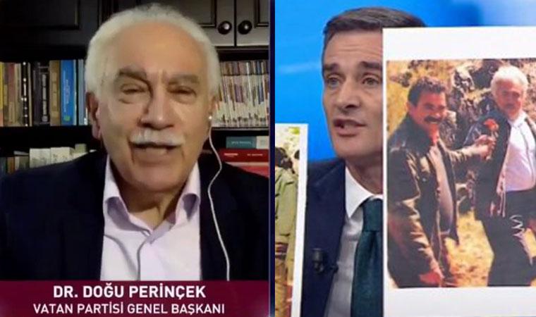 """Perinçek'e Soğuk Duş """"Bizim Genel Başkanımız Öcalan'la kikirdemedi"""""""