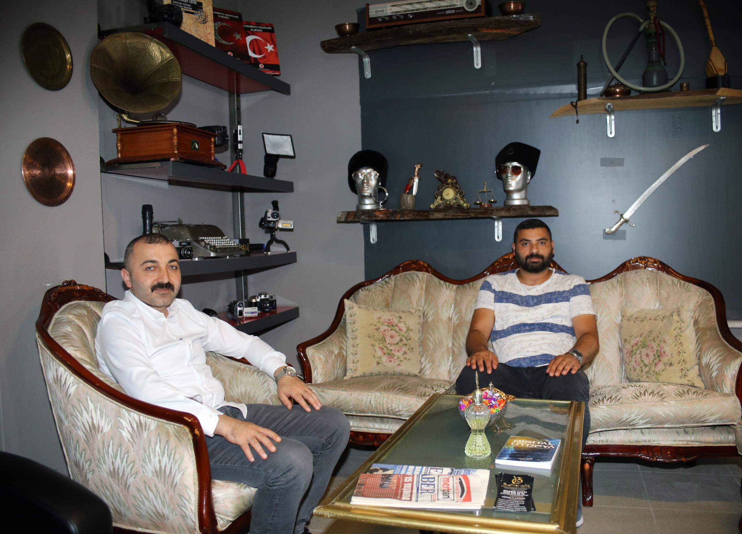 MHP SULTANBEYLİ'DEN İZGİ MEDYA'YA HAYIRLI OLSUN ZİYARETİ