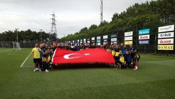 Fenerbahçe, Beşiktaş derbisi hazırlıklarını sürdürdü