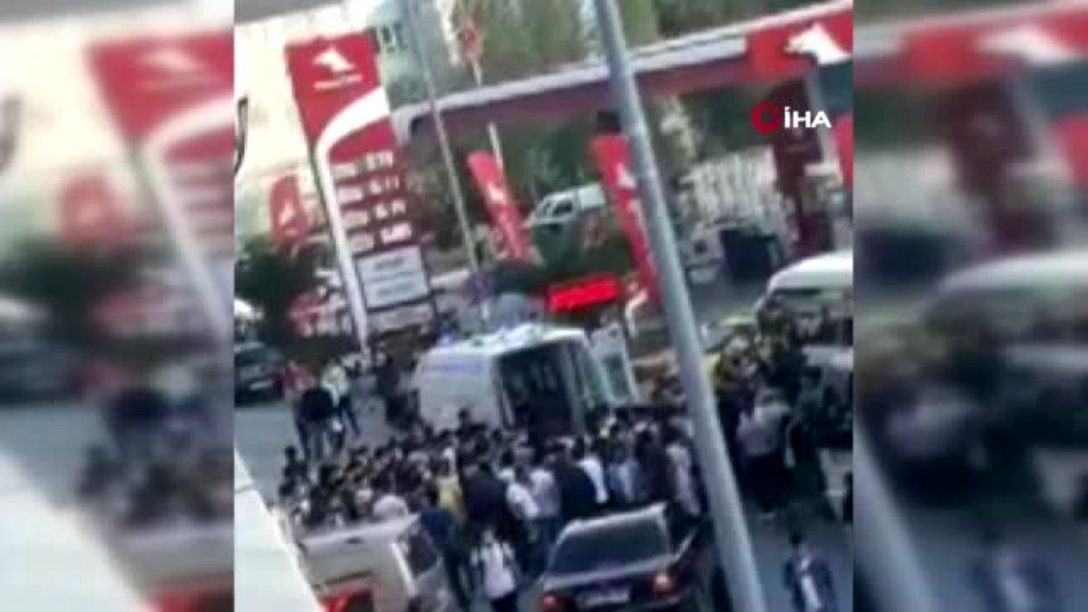 Arnavutköy de yolun karşısına geçmek isteyen yaşlı adama otomobil çarptı