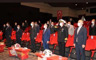 SULTANBEYLİ'DE 10. KASIM TÖRENİ